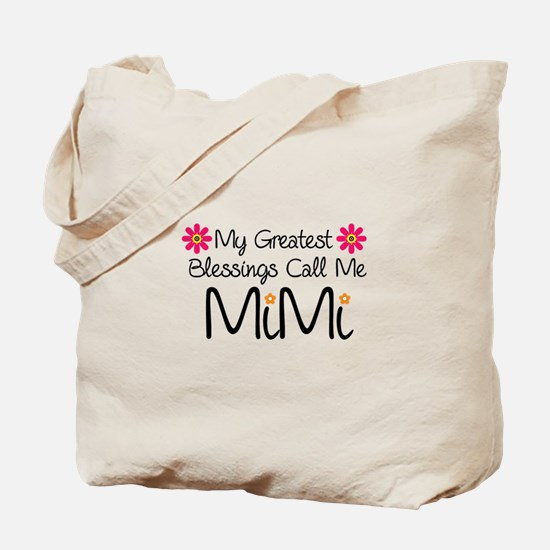 My Greatest Blessings Tote Bag