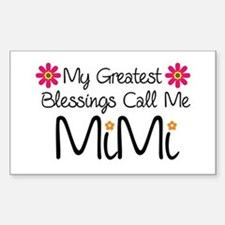 My Greatest Blessings Bumper Stickers