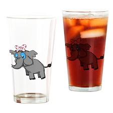 Ella Elephant Drinking Glass