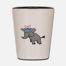 Ella Elephant Shot Glass