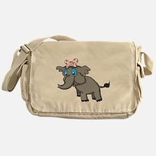 Ella Elephant Messenger Bag