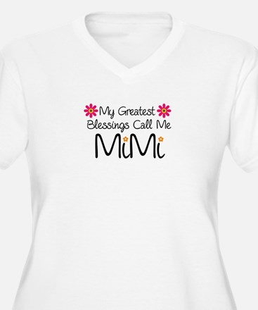 My Greatest Blessings Plus Size T-Shirt