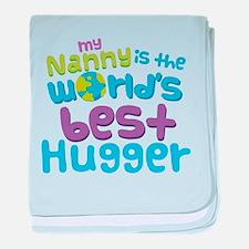 Nanny World's best Hugger baby blanket