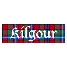 Tartan - Kilgour Bumper Sticker