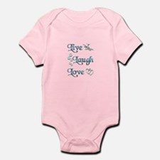 Live Laugh Love Infant Bodysuit