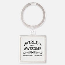 World's Most Awesome Respiratory Therapist Square