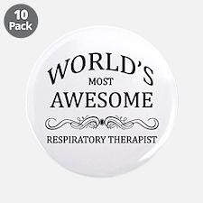 """World's Most Awesome Respiratory Therapist 3.5"""" Bu"""
