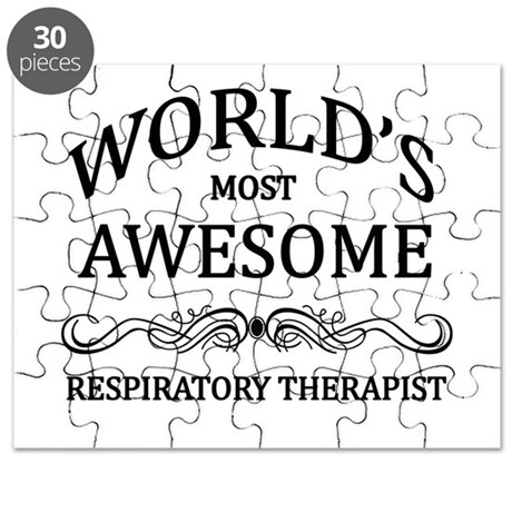 World's Most Awesome Respiratory Therapist Puzzle