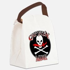 Captain Mike Canvas Lunch Bag
