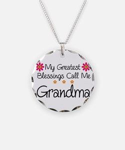 Blessings Grandma Necklace