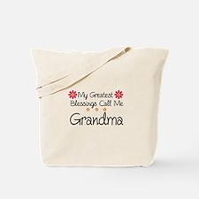 Blessings Grandma Tote Bag