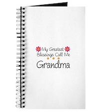 Blessings Grandma Journal