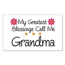 Blessings Grandma Decal