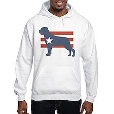 Patriotic Rottweiler Hoodie