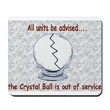 Crystal Ball Mousepad
