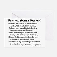 Martial Arts Greeting Card