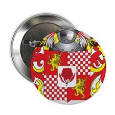 """Edwarde Coat of Arms 2.25"""" Button"""