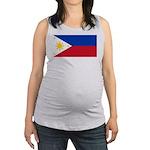 Philippines.jpg Maternity Tank Top