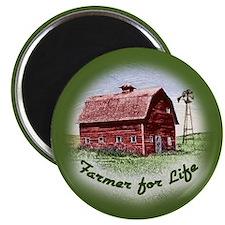 Farmer for Life Magnet