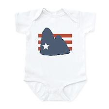 Patriotic Shih Tzu Infant Bodysuit