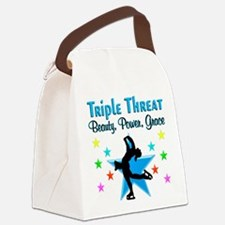 FIGURE SKATER Canvas Lunch Bag
