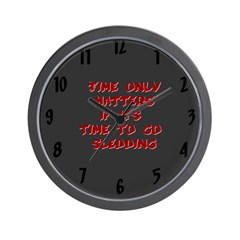 Time Only Matters Wall Clock