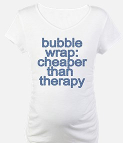 Bubble Wrap: Cheaper than Therapy Funny Tshirt Mat