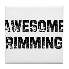 Awesome Rimming Tile Coaster