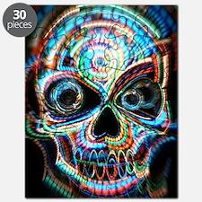 neon skull Puzzle