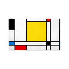 Mondrian Lines 3'x5' Area Rug