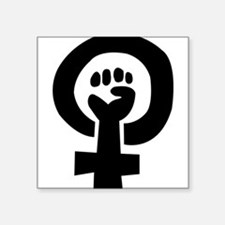 femhandblack Sticker