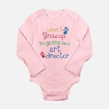 Future Art Director Long Sleeve Infant Bodysuit