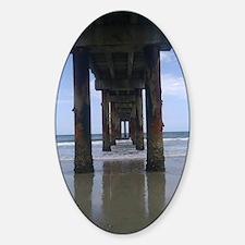 Anastasia Island Pier Decal