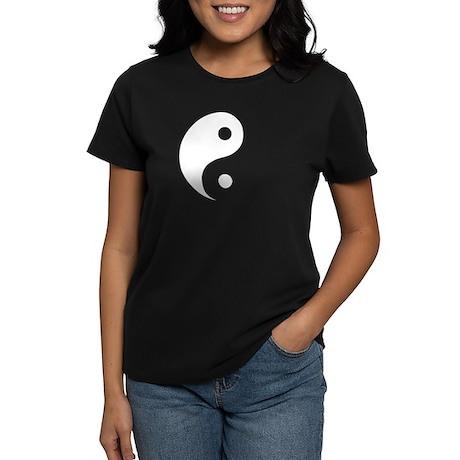 Ying Yang Women's Dark T-Shirt