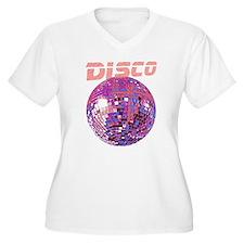 DiscoBCPur10 Plus Size T-Shirt