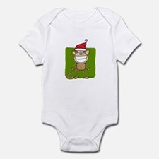 Christmas Monkey Infant Bodysuit
