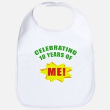Celebrating Me! 10th Birthday Bib