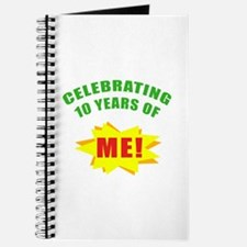 Celebrating Me! 10th Birthday Journal