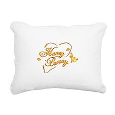 Honey Bunny Rectangular Canvas Pillow