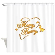 Honey Bunny Shower Curtain