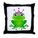 Frog Throw Pillows