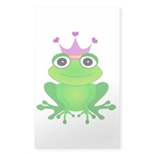 Purple Crown Frog Prince Decal