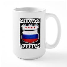 Chicago Russian American Sign Mug