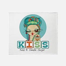 Keep It Simple Sugar Throw Blanket