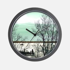Winter Wonderland - Nature Landscape Wall Clock