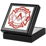 Masonic Fire and Rescue Keepsake Box
