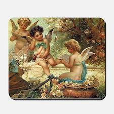 Victorian Angels by Zatzka Mousepad