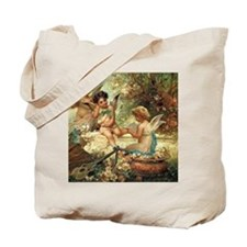 Victorian Angels by Zatzka Tote Bag