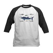 Shark Types Baseball Jersey