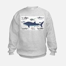 Shark Types Sweatshirt